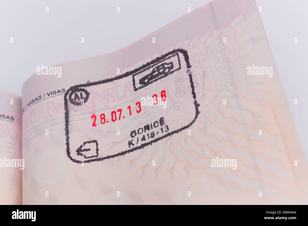 how to get an exit stamp passport
