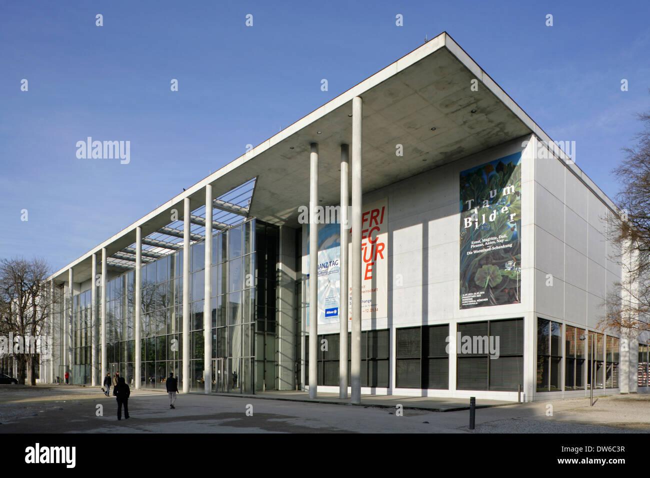 The Pinakothek der Moderne art museum, Munich, Germany. Stock Photo