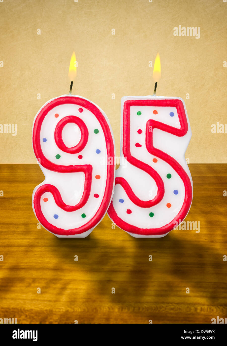 Disney 3D Numbered Birthday Candles