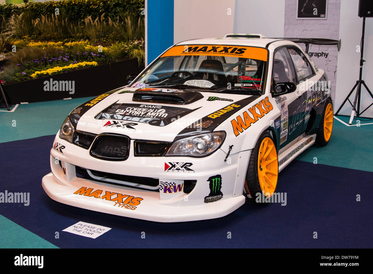 Japspeed drift car at the Photography Show at the NEC In Birmingham showing for four days. - Stock Image