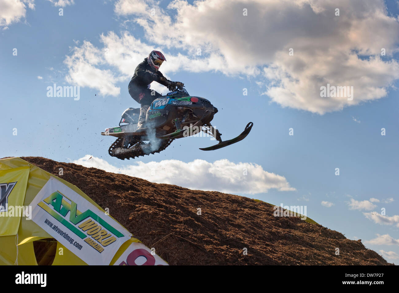 The Toronto International Snowmobile, ATV & Powersports Show - Stock Image