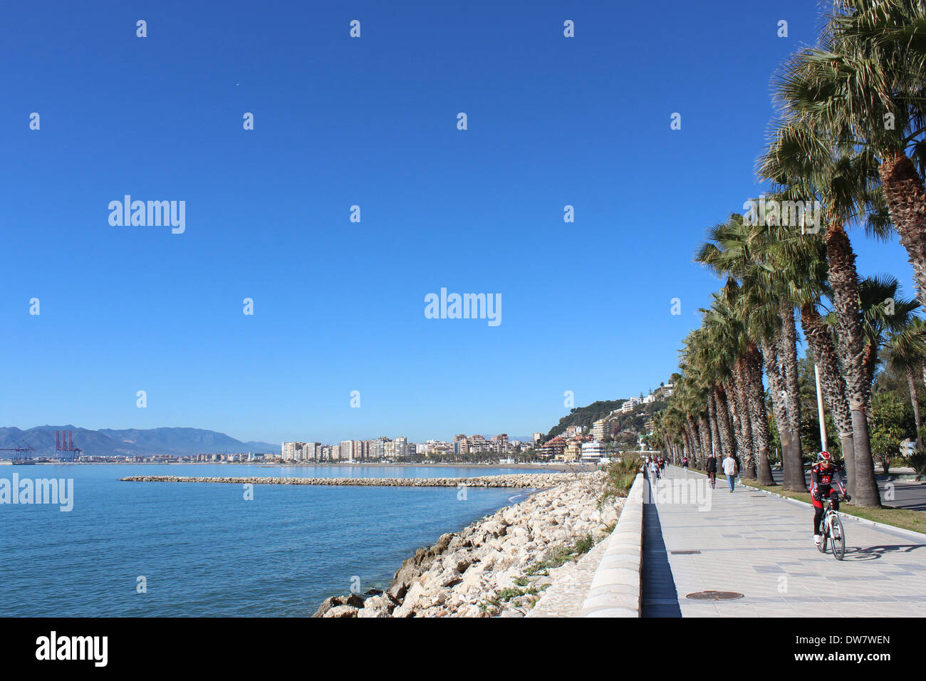 Banos Del Carmen 2 Kilometres East Of Central Malaga Home To A