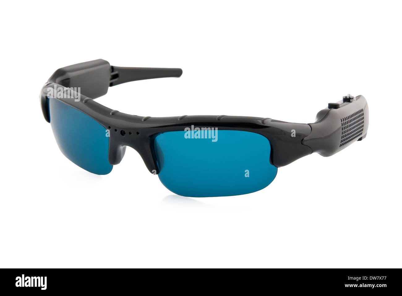 Sunglasses with camera - Stock Image