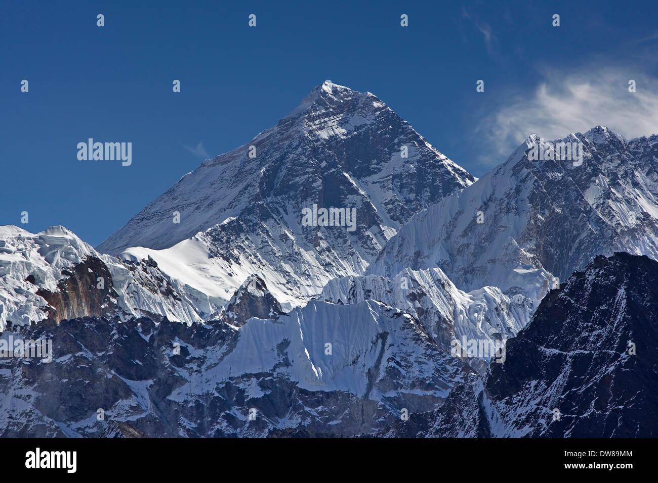 Mount Everest. - Stock Image