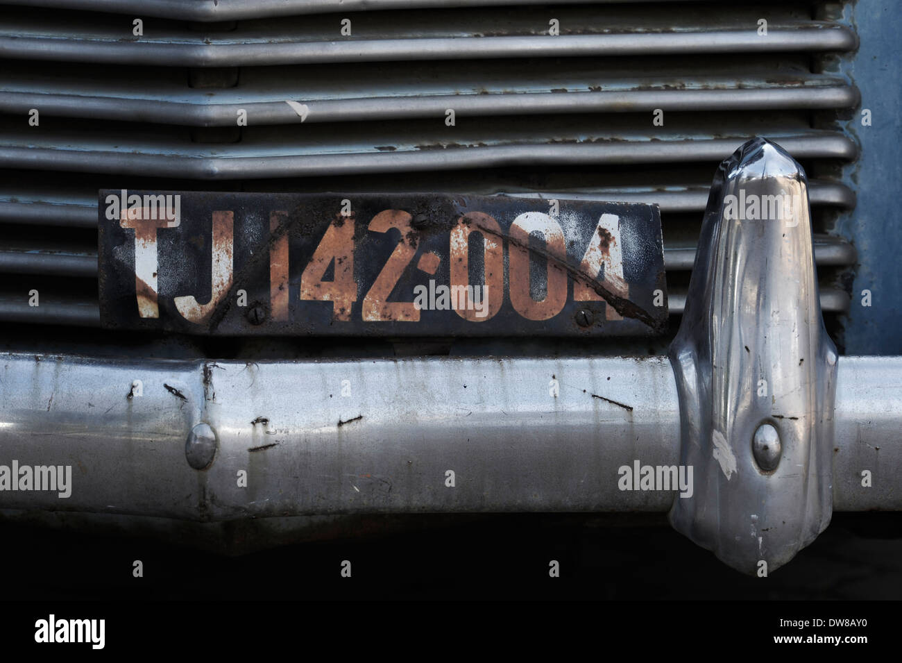 View old car number plate for city of Johannesburg South Africa ...