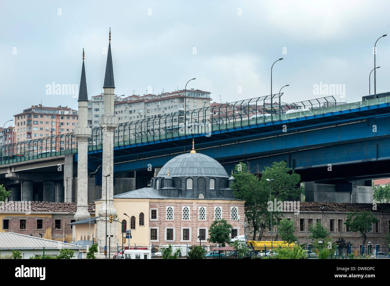 Along the Golden Horn, Istanbul, Turkey - Stock Image