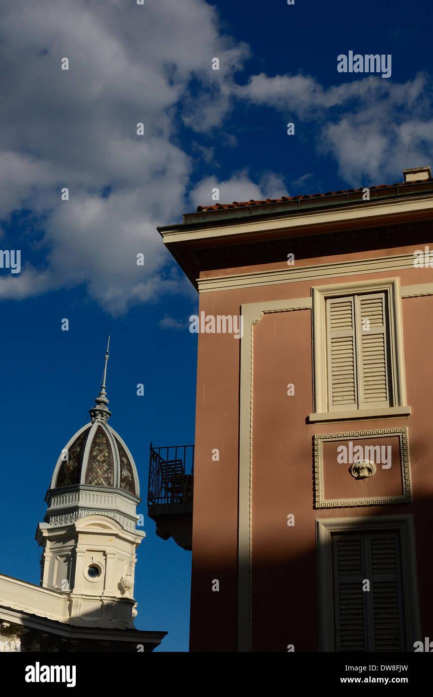 The domed roof of the Casino Admiral. Opatija,The Kvarner Riviera. Croatia Stock Photo