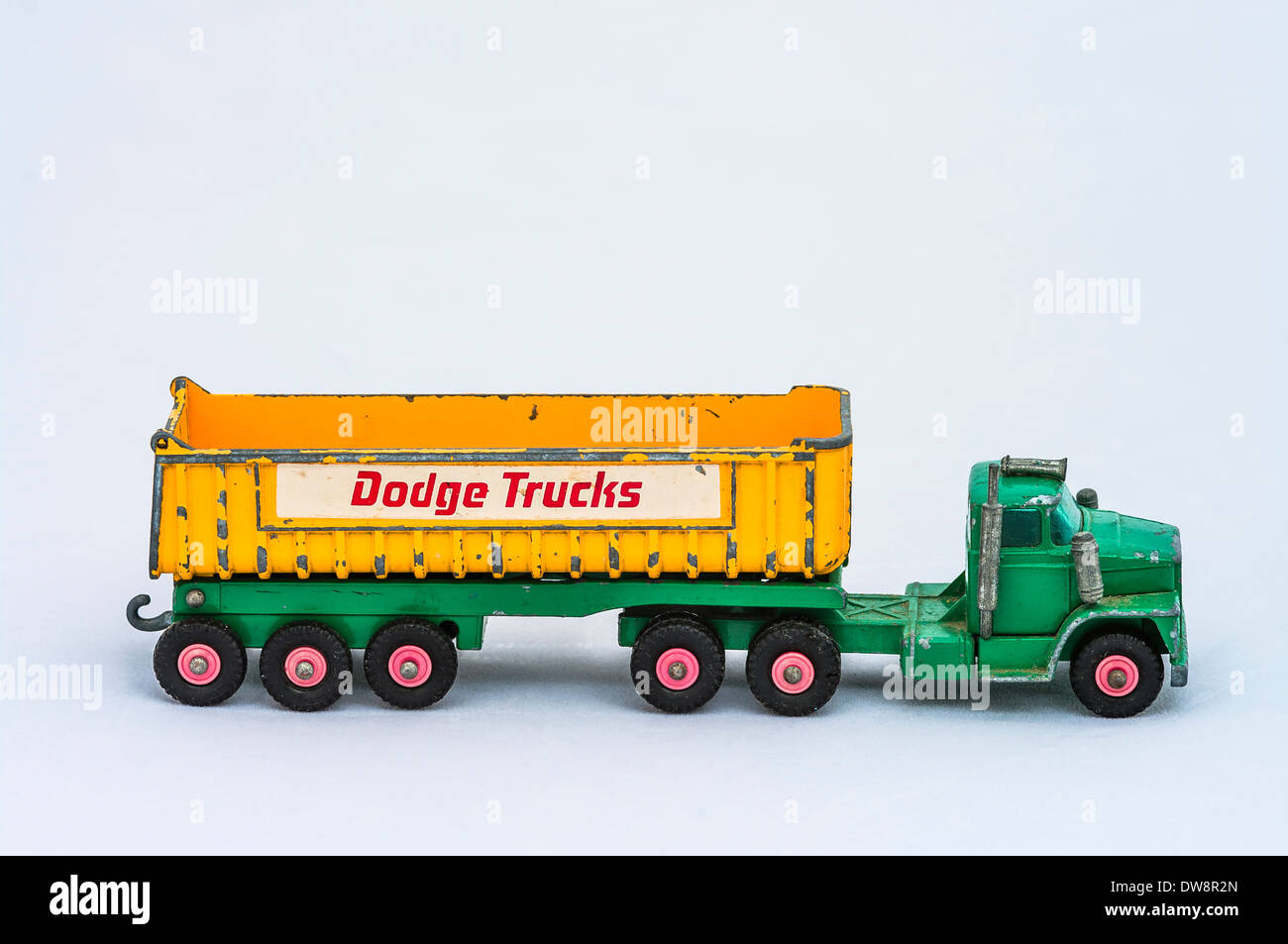 Dinky toy Dodge Truck - Stock Image