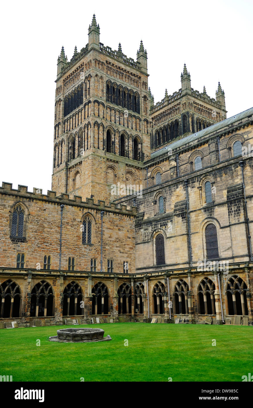 Durham Cathedral, County Durham, England - Stock Image