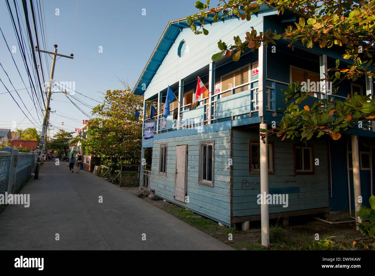 Utila Town Stock Photos & Utila Town Stock Images - Alamy