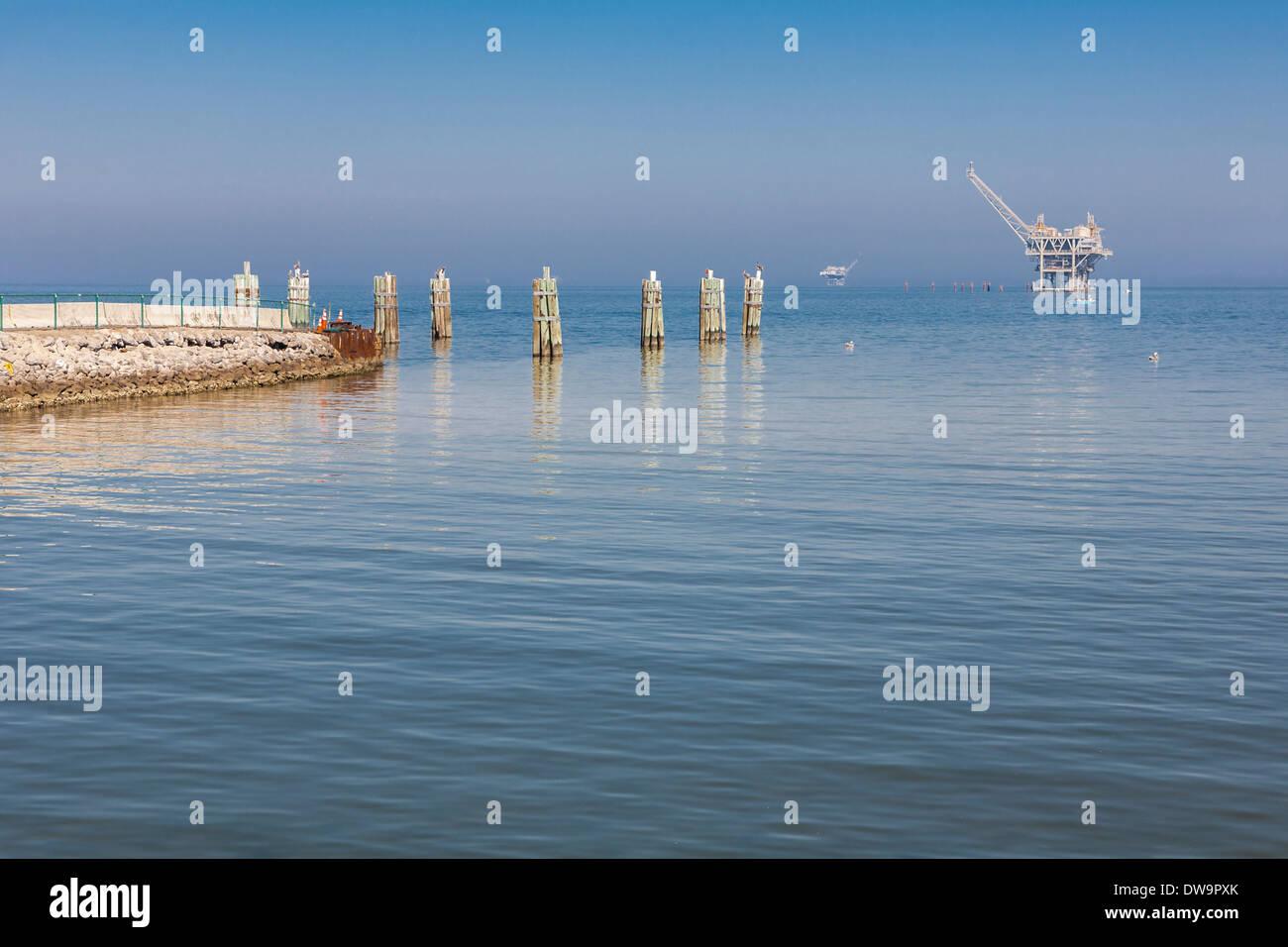 at Gulf Shores, Alabama - Stock Image