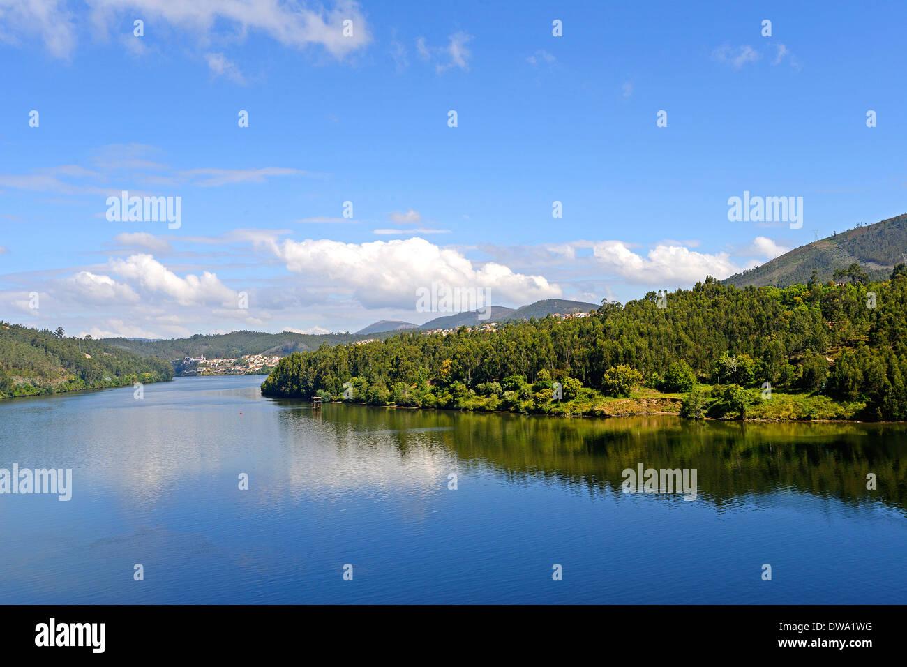 Douro river Portugal - Stock Image