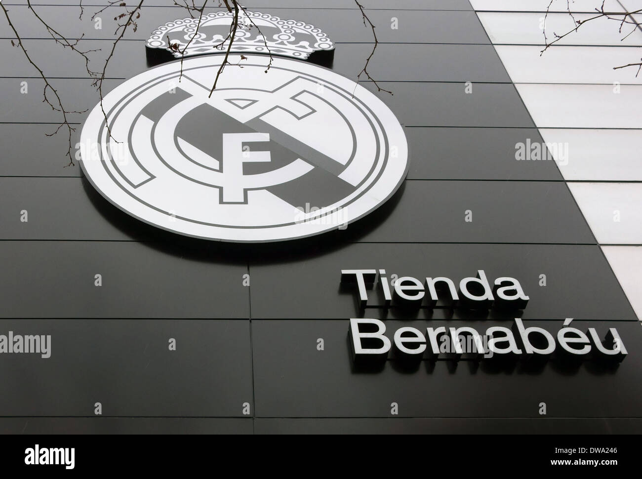 07e4cbb3933 Real Madrid official shop at Bernabeu Stadium