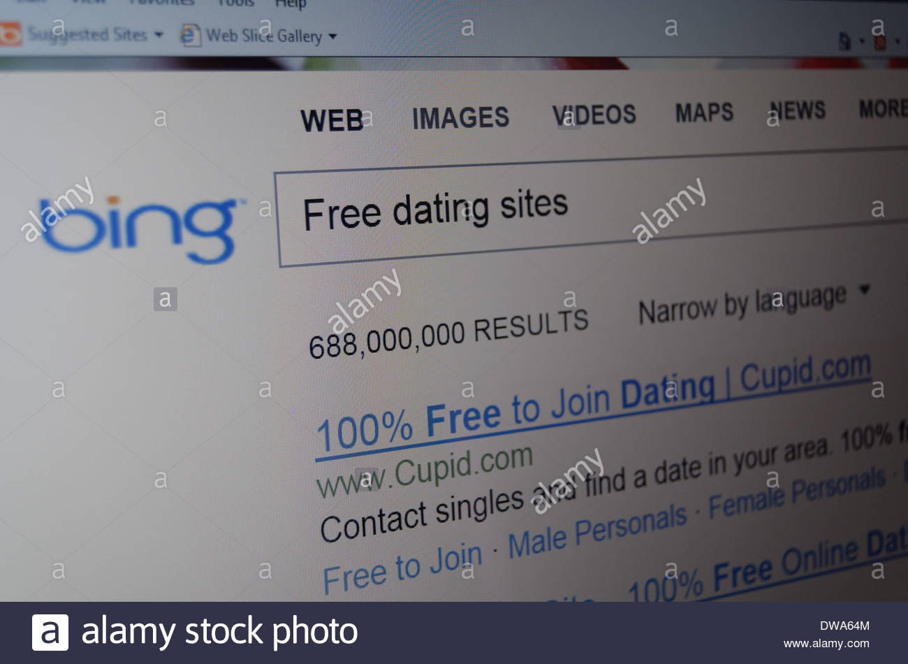 Dating site search engine