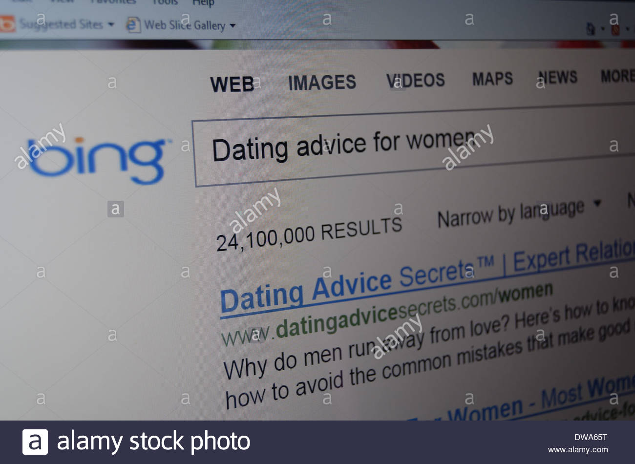 dating advice on the internet
