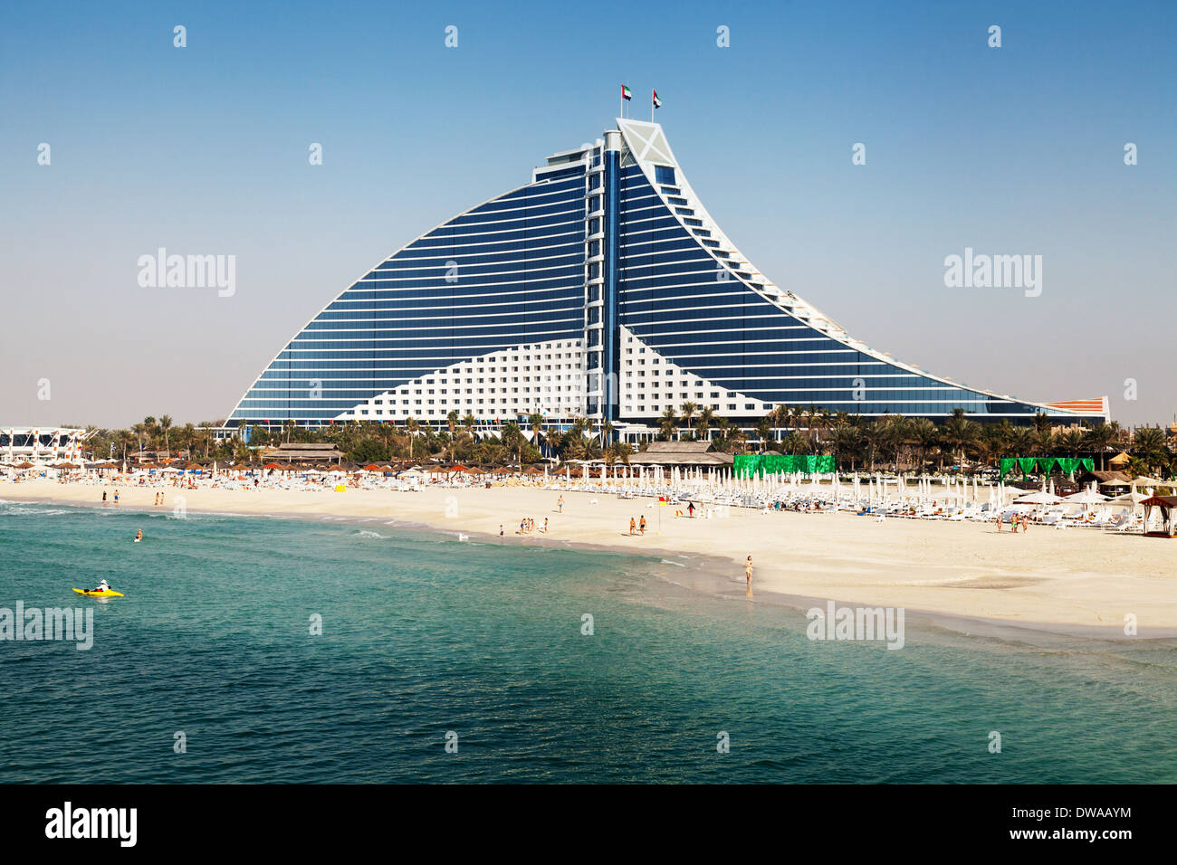 The Jumeirah Beach Hotel Dubai A Luxury 5 Star Hotel Dubai Uae Stock Photo Alamy