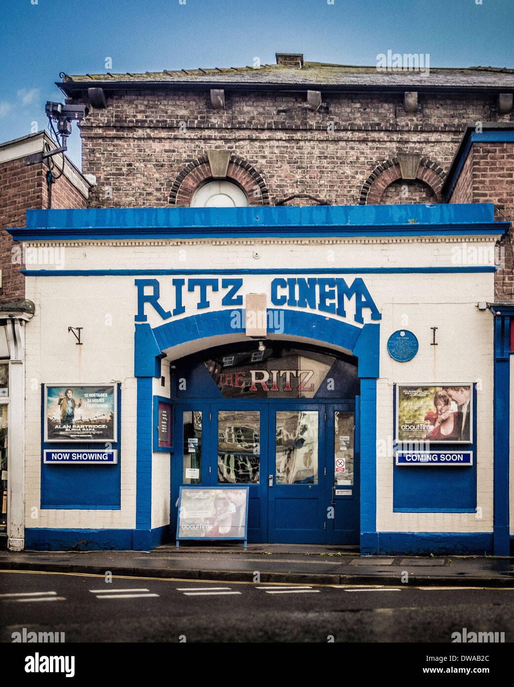 Ritz Cinema, Thirsk, North Yorkshire, UK. - Stock Image