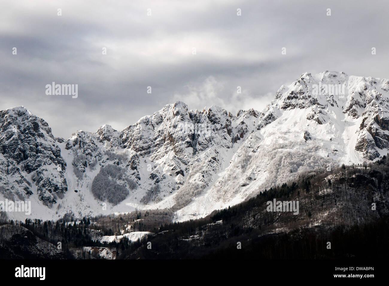 Italy, Recoaro Terme, Piccole dolomiti Stock Photo