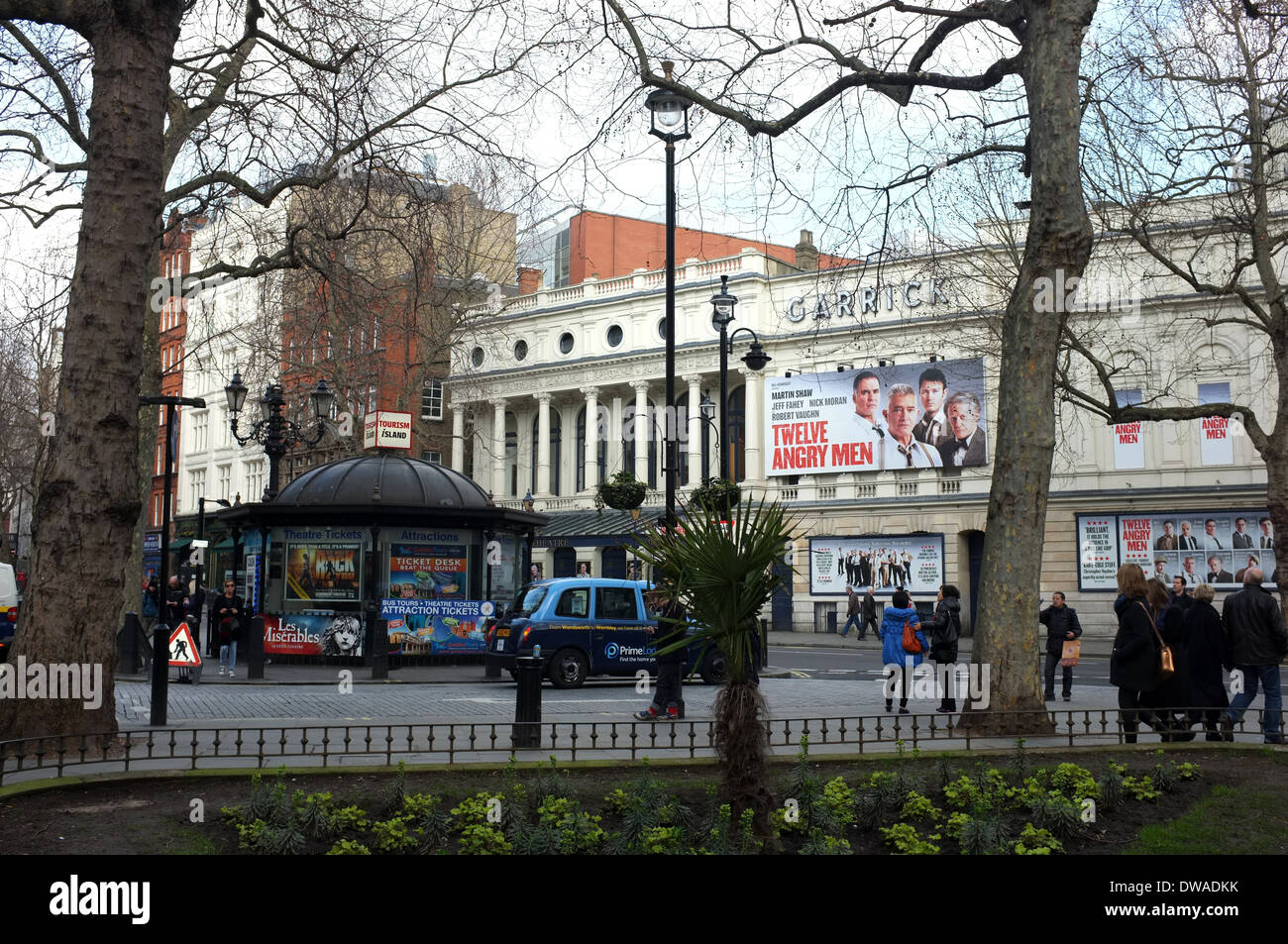 garrick theatre charing cross road  london wc2 uk 2014 - Stock Image