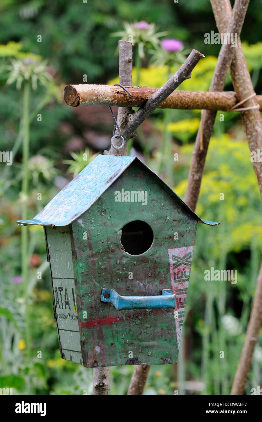 Nesting box - Stock Image
