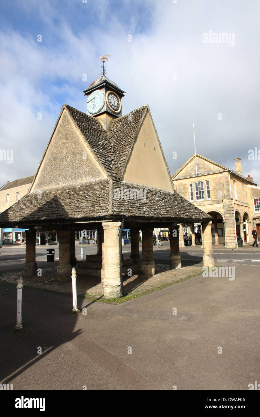 The Buttercross Witney Oxfordshire. - Stock Image