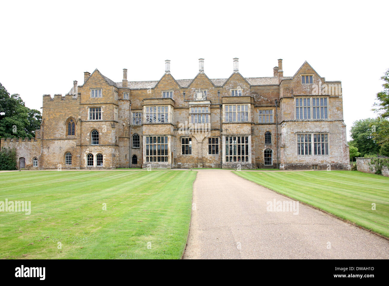 Broughton Castle, near Banbury, Oxfordshire. - Stock Image