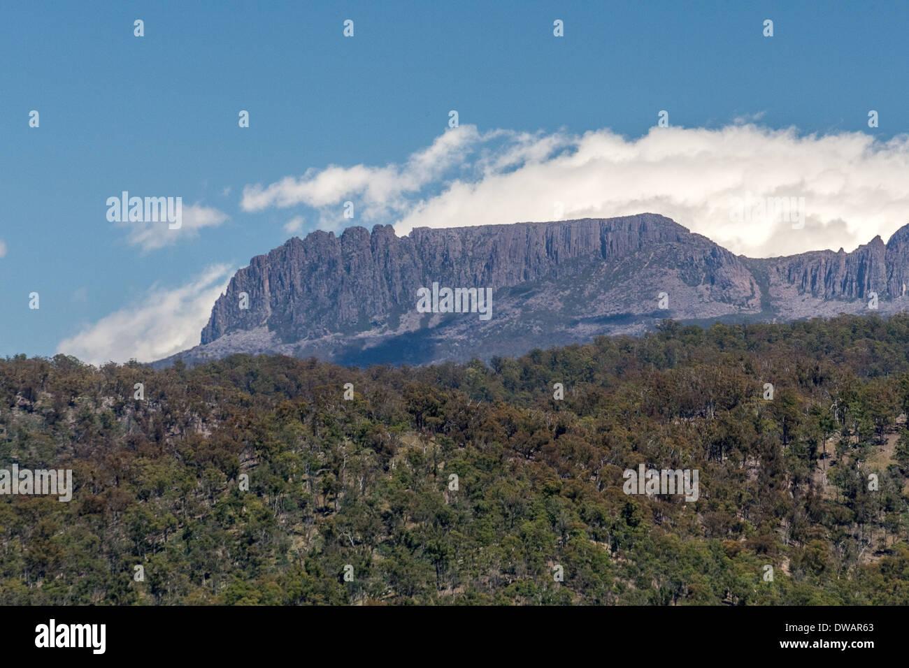 Ben Lomond mountain Tasmania Australia outdoor summer Stock Photo