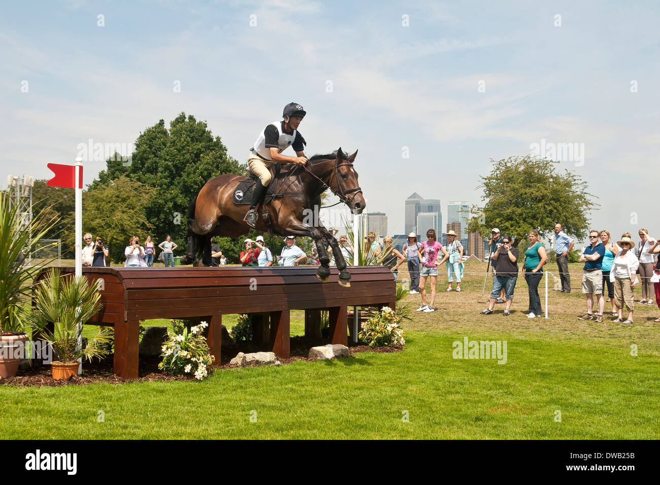 Three day eventing in London - Stock Image