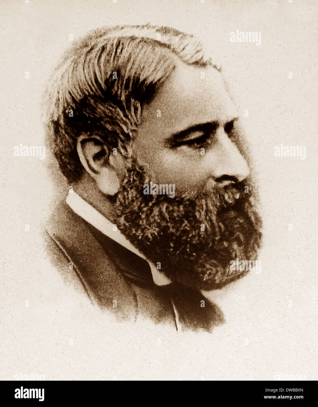 Arthur Bell Nicholls circa 1867 - Stock Image