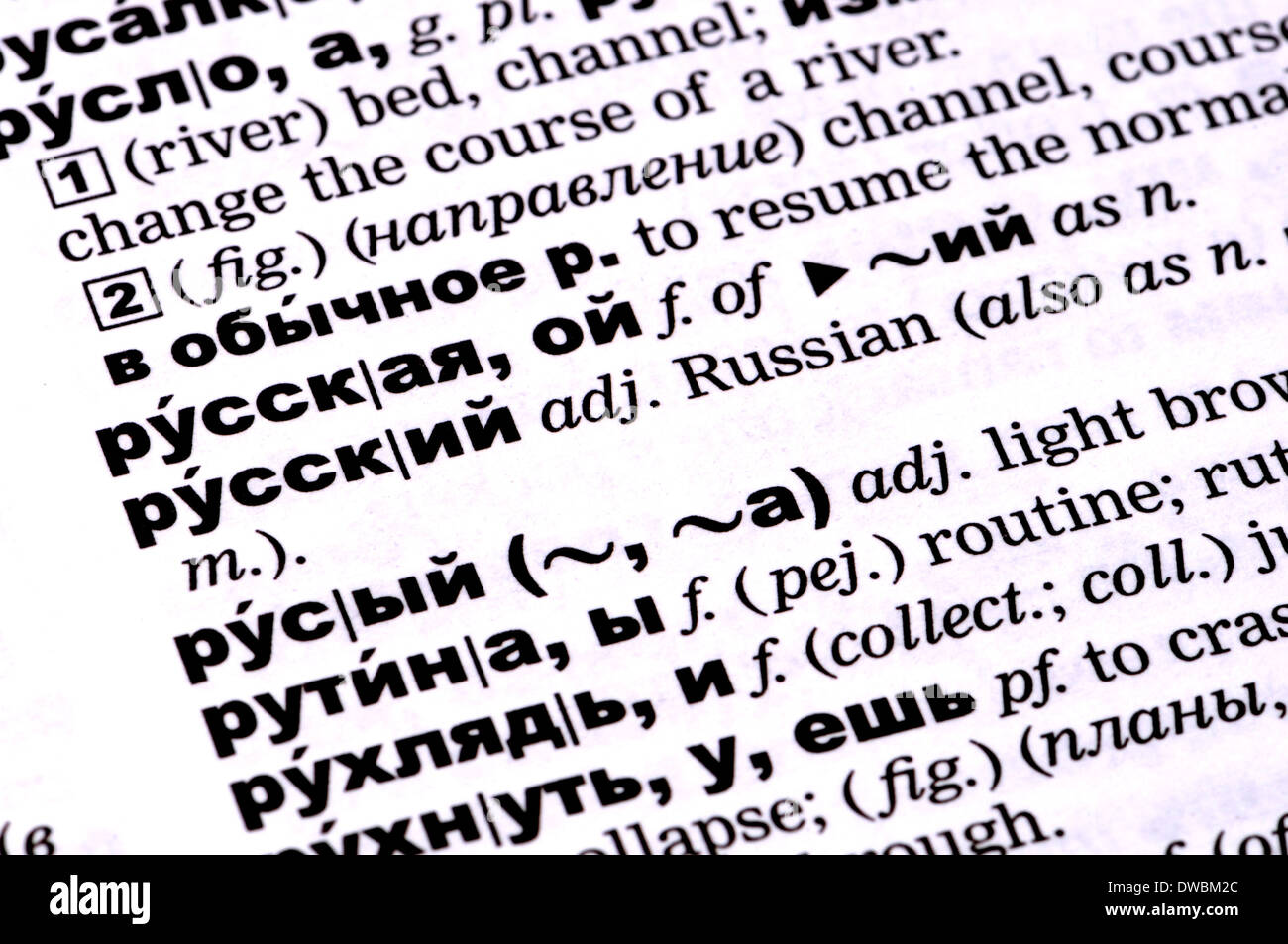 What are the dictionaries What are the dictionaries of the Russian language