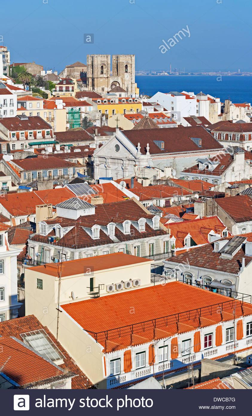 Lisbon city centre, Portugal Stock Photo