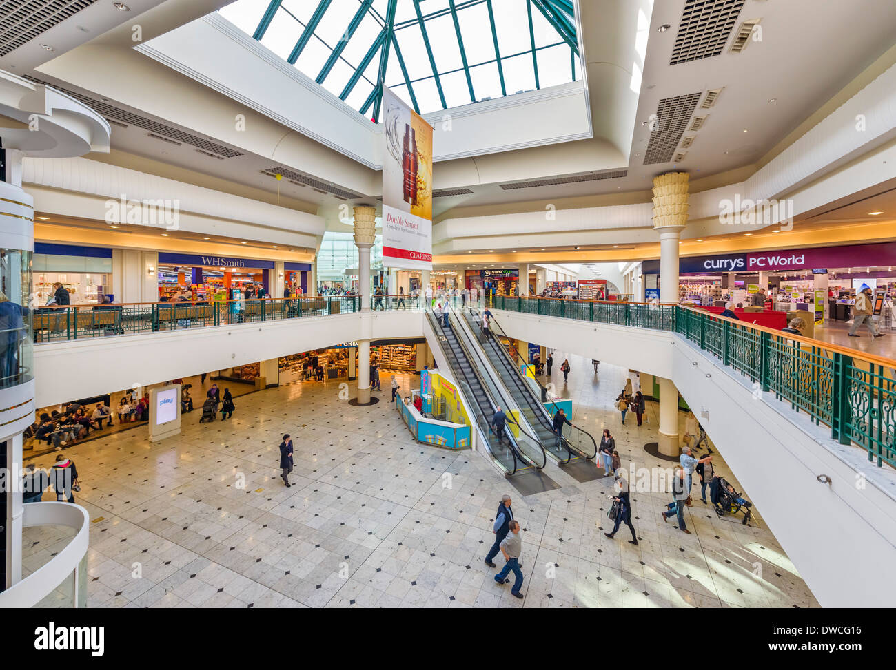 Meadowhall shopping centre, Sheffield, South Yorkshire, England, UK - Stock Image