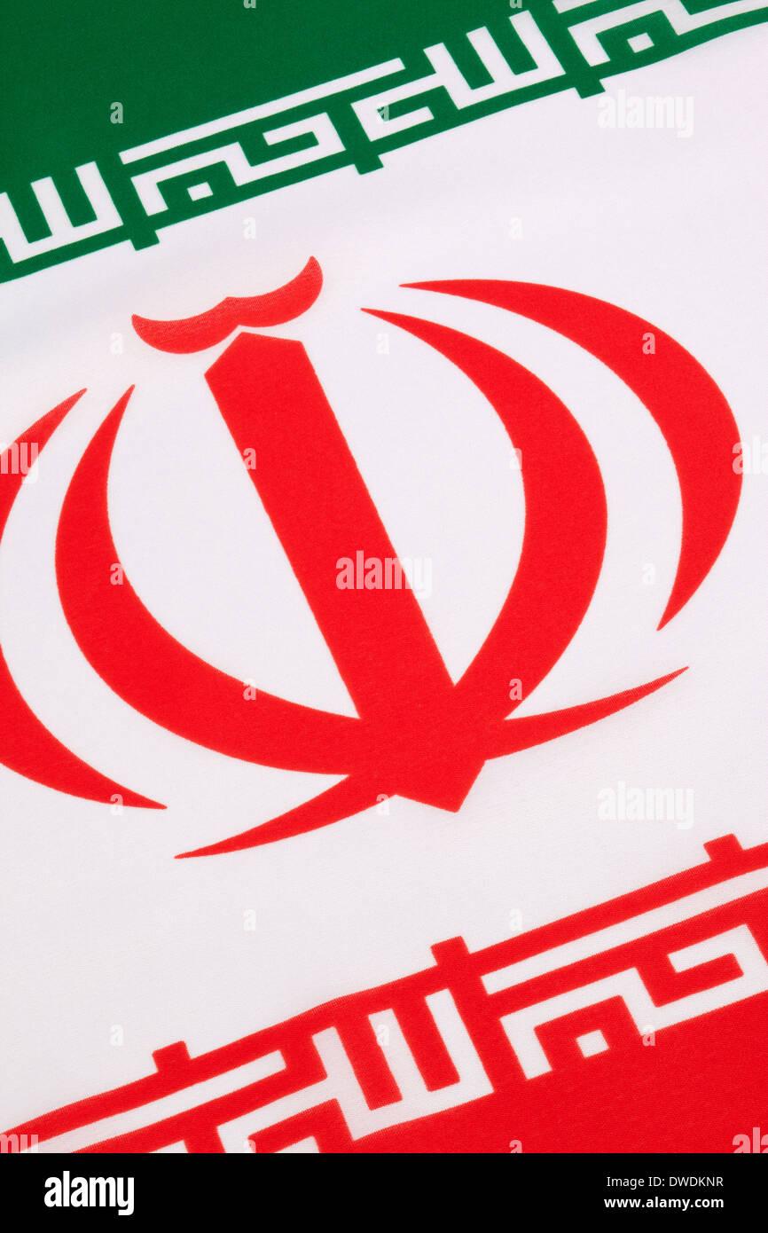 Flag of Iran - Stock Image