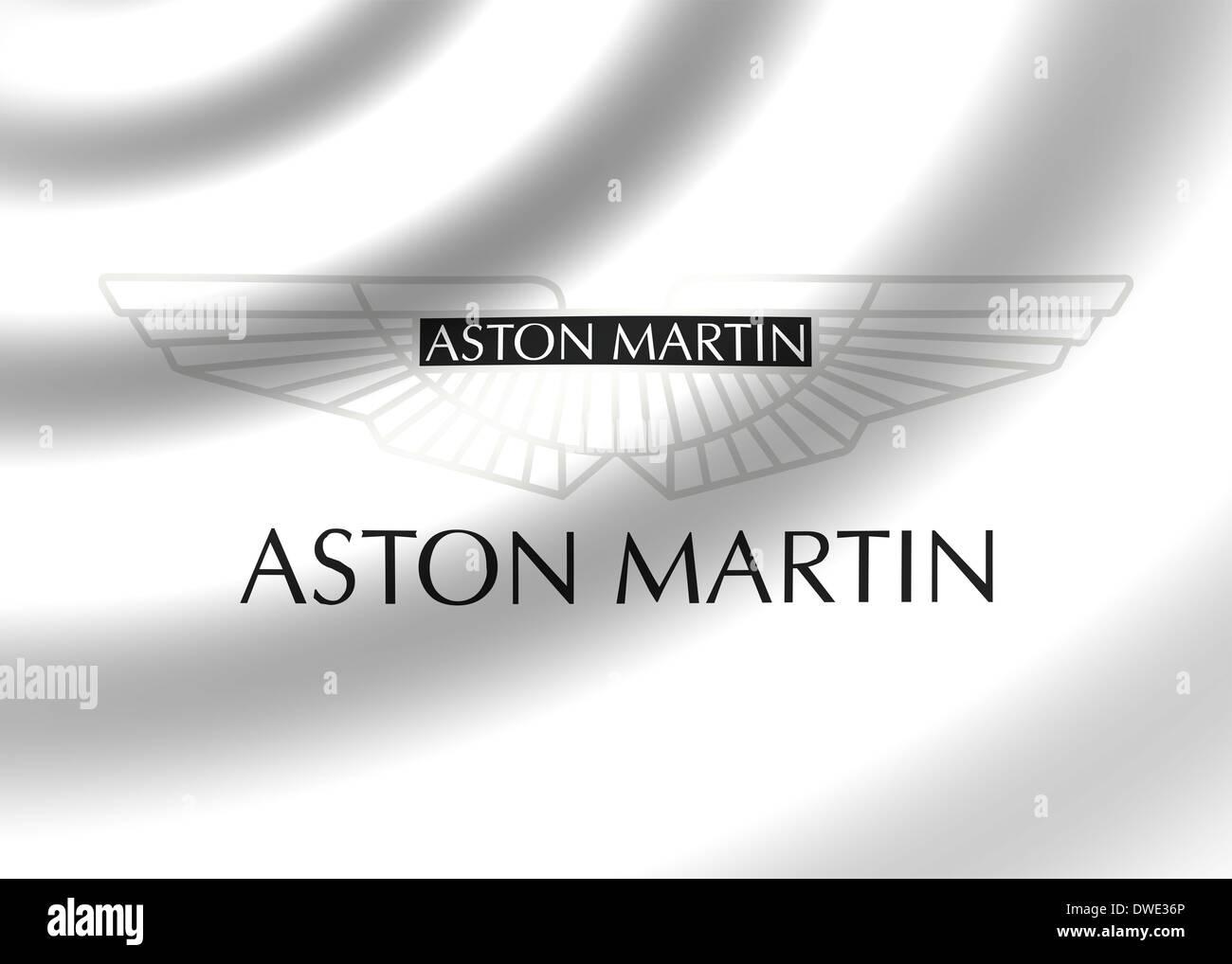 Aston Martin Logo Symbol Icon Flag Emblem Stock Photo 67307374 Alamy