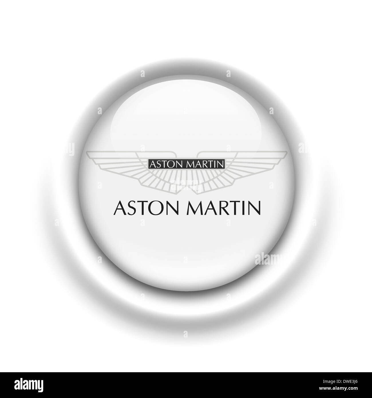 Aston Martin Cut Out Stock Images & Pictures