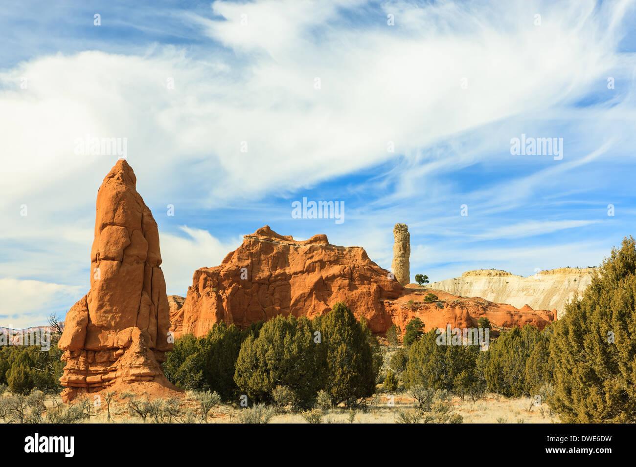 Kodachrome Basin State Park near Cannonville, Utah - USA - Stock Image