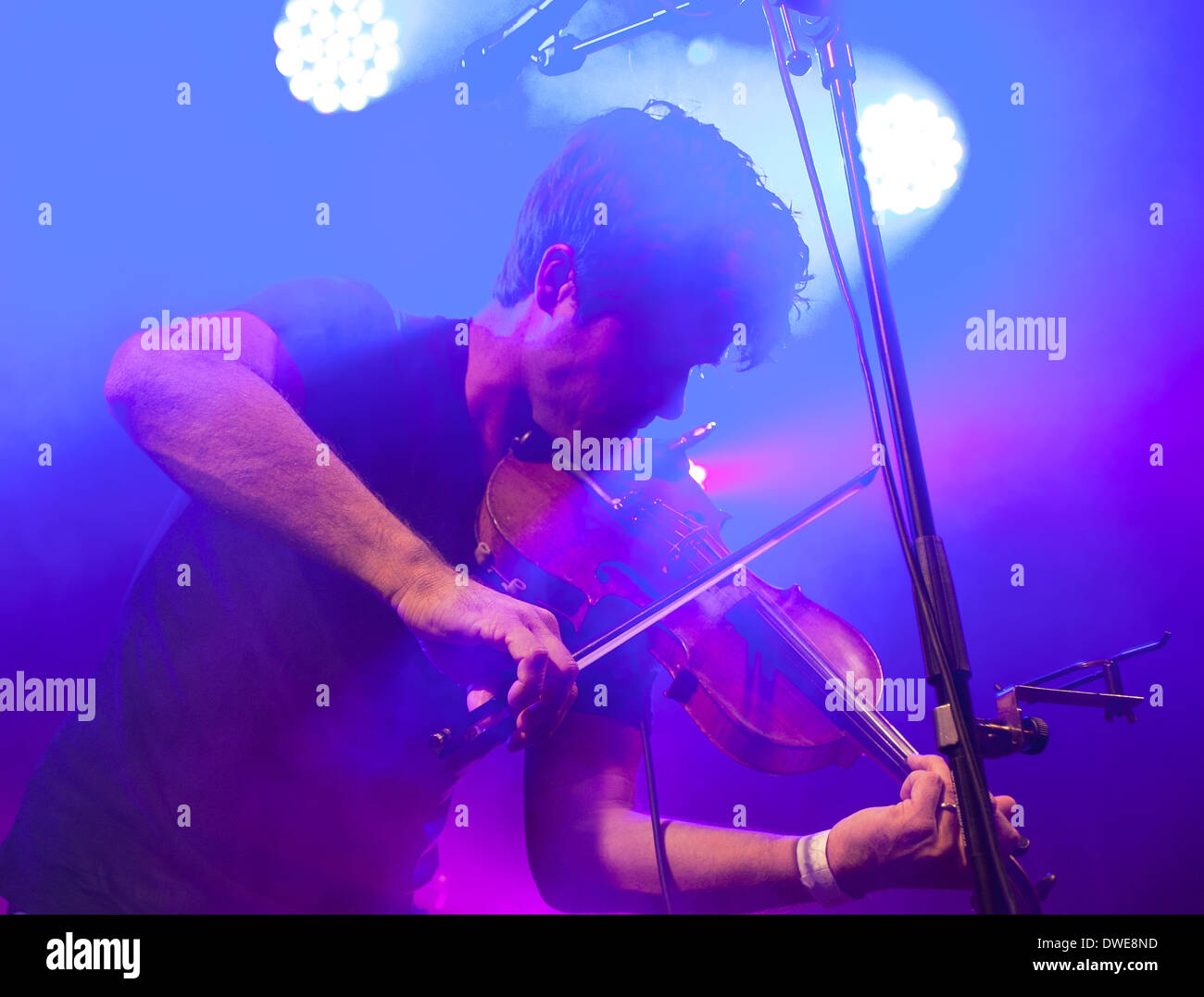 Seth Lakeman at Berkofest 2013, Berkhamsted - Stock Image