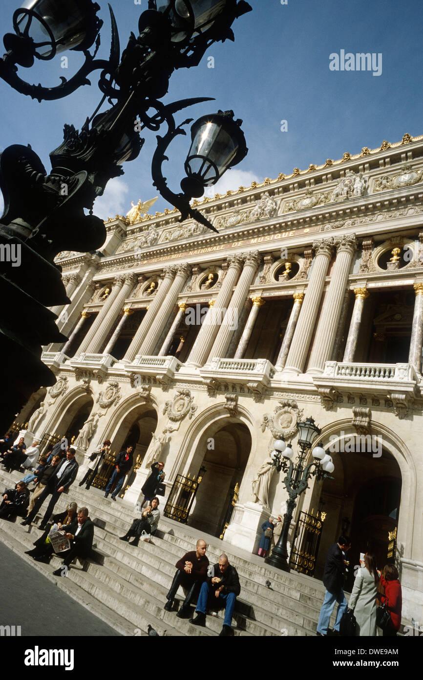 Paris. France. Opéra National de Paris Garnier. 9th Arrondissement. - Stock Image