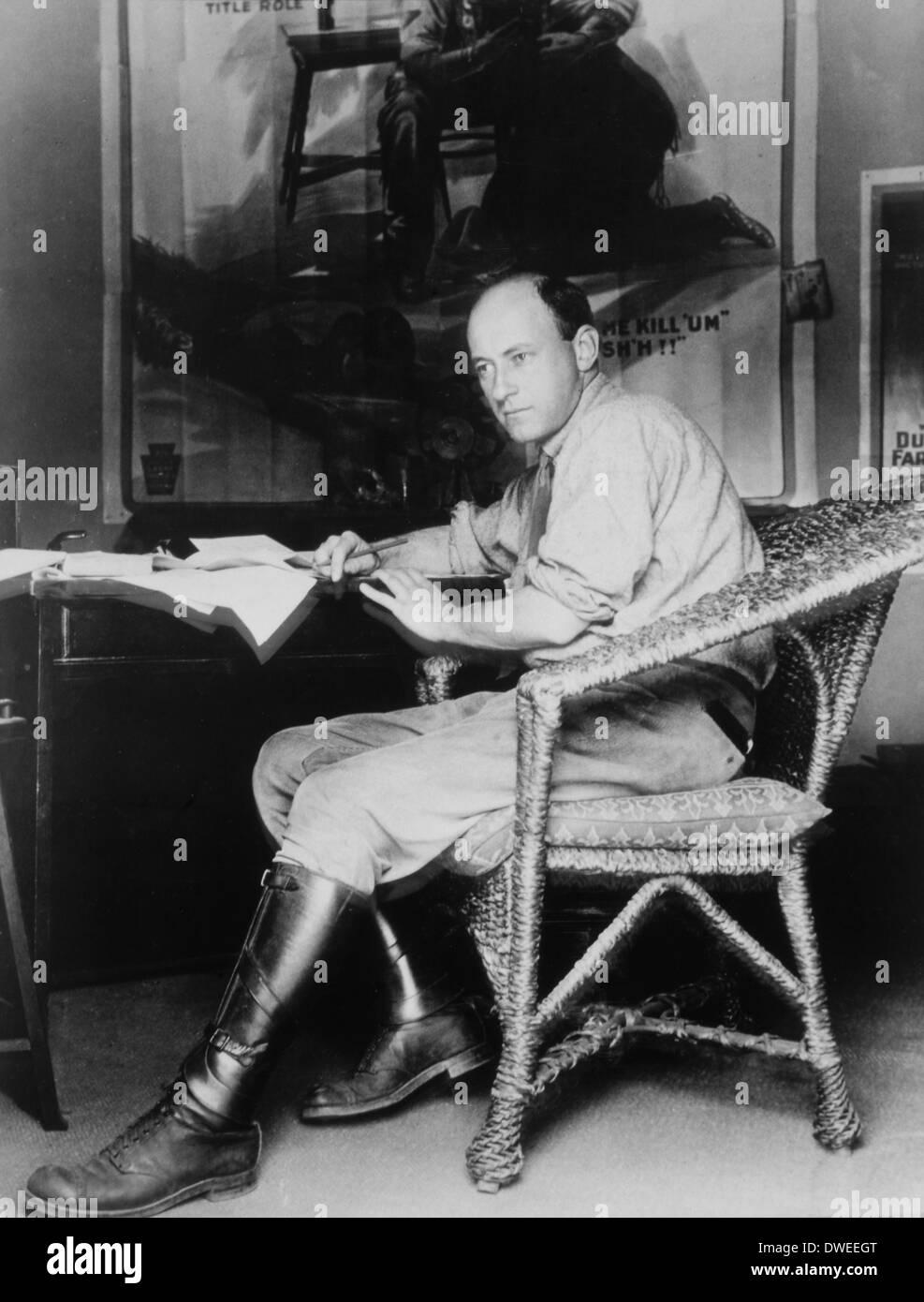 Cecil B. DeMille (1881-1959), American Director, Portrait, 1914 - Stock Image