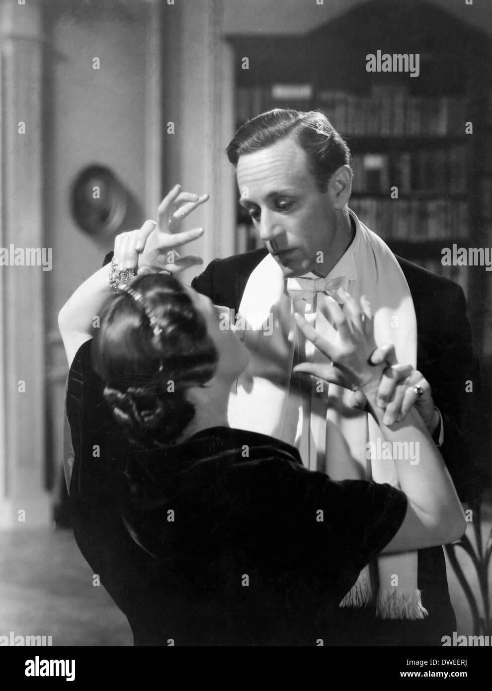 Wendy Hiller and Leslie Howard, on-set of the Film, 'Pygmalion', 1938 - Stock Image