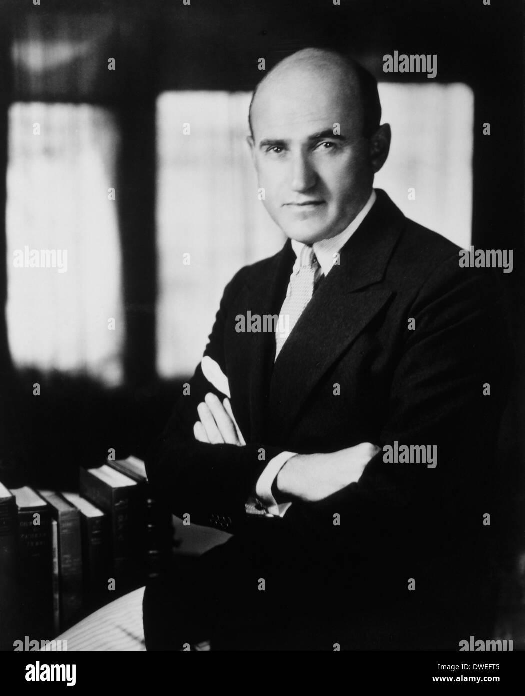 Samuel Goldwyn (1879-1974) American Film Producer, Portrait, circa 1920's - Stock Image