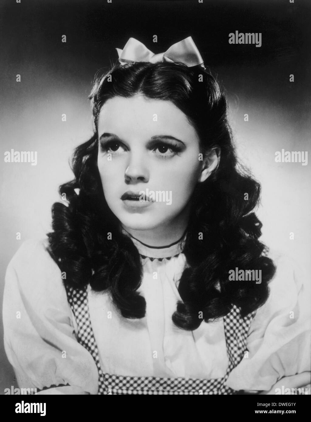 Judy Garland, Portrait, 'The Wizard of Oz', 1939 - Stock Image