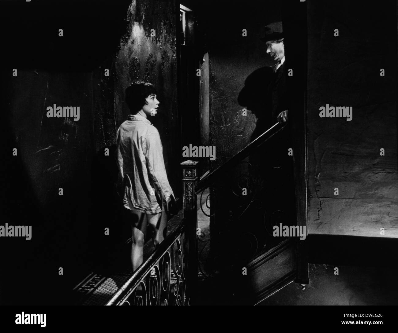 Shirley MacLaine, on-set of the Film, 'The Apartment', 1960 - Stock Image