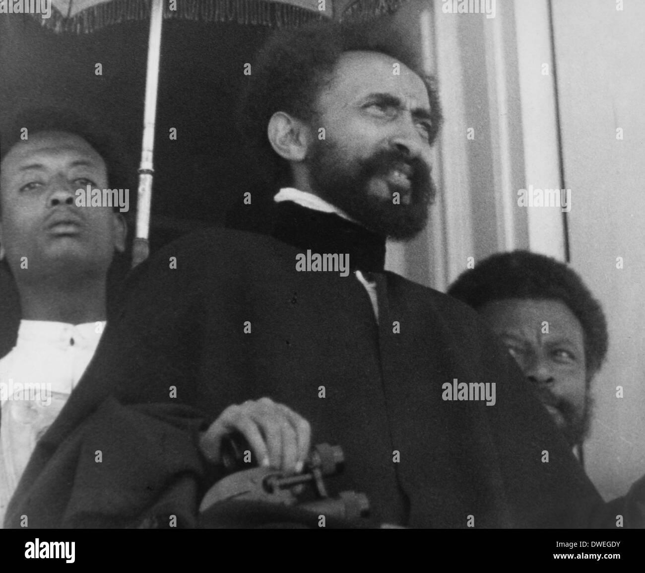 Haile Selassie (1892-1975), Emperor of Ethiopia, Portrait, 1935 - Stock Image