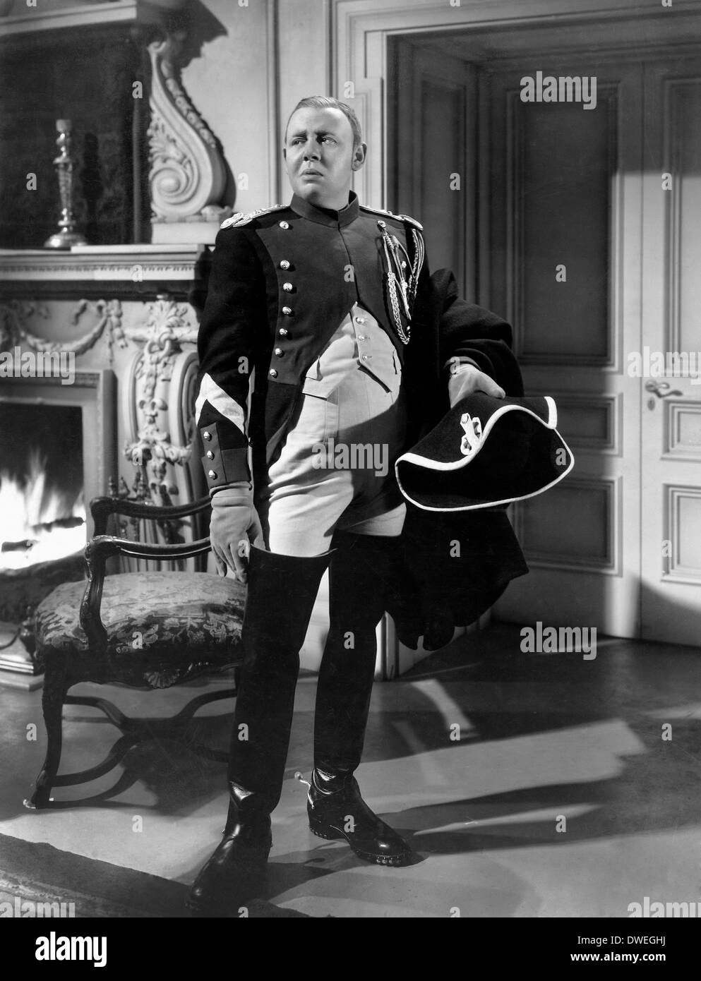 "Charles Laughton, on-set of the Film, ""Les Miserables"" directed by Richard  Boleslawski, 1935"