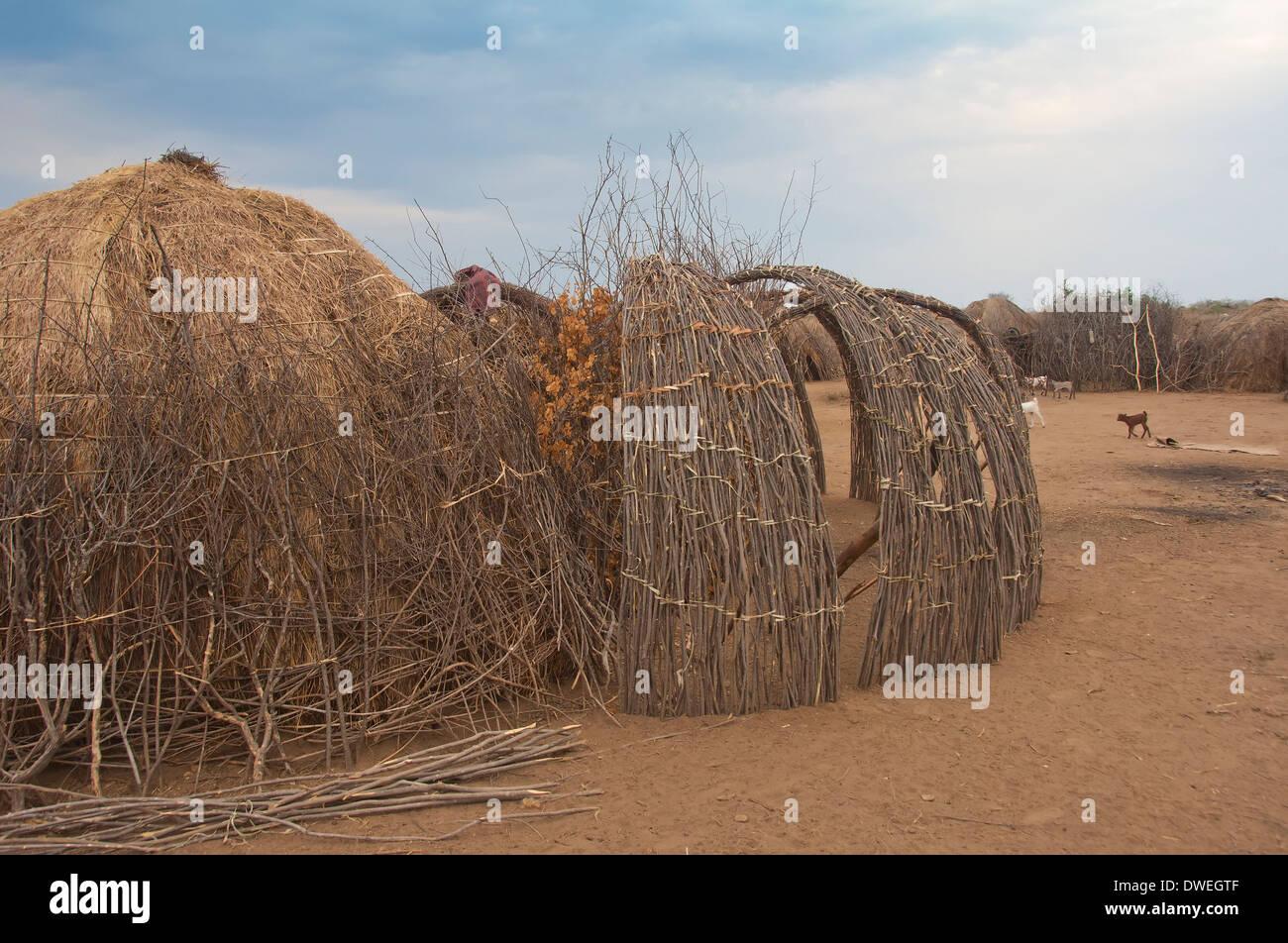 Nyangatom Tribe Stock Photo