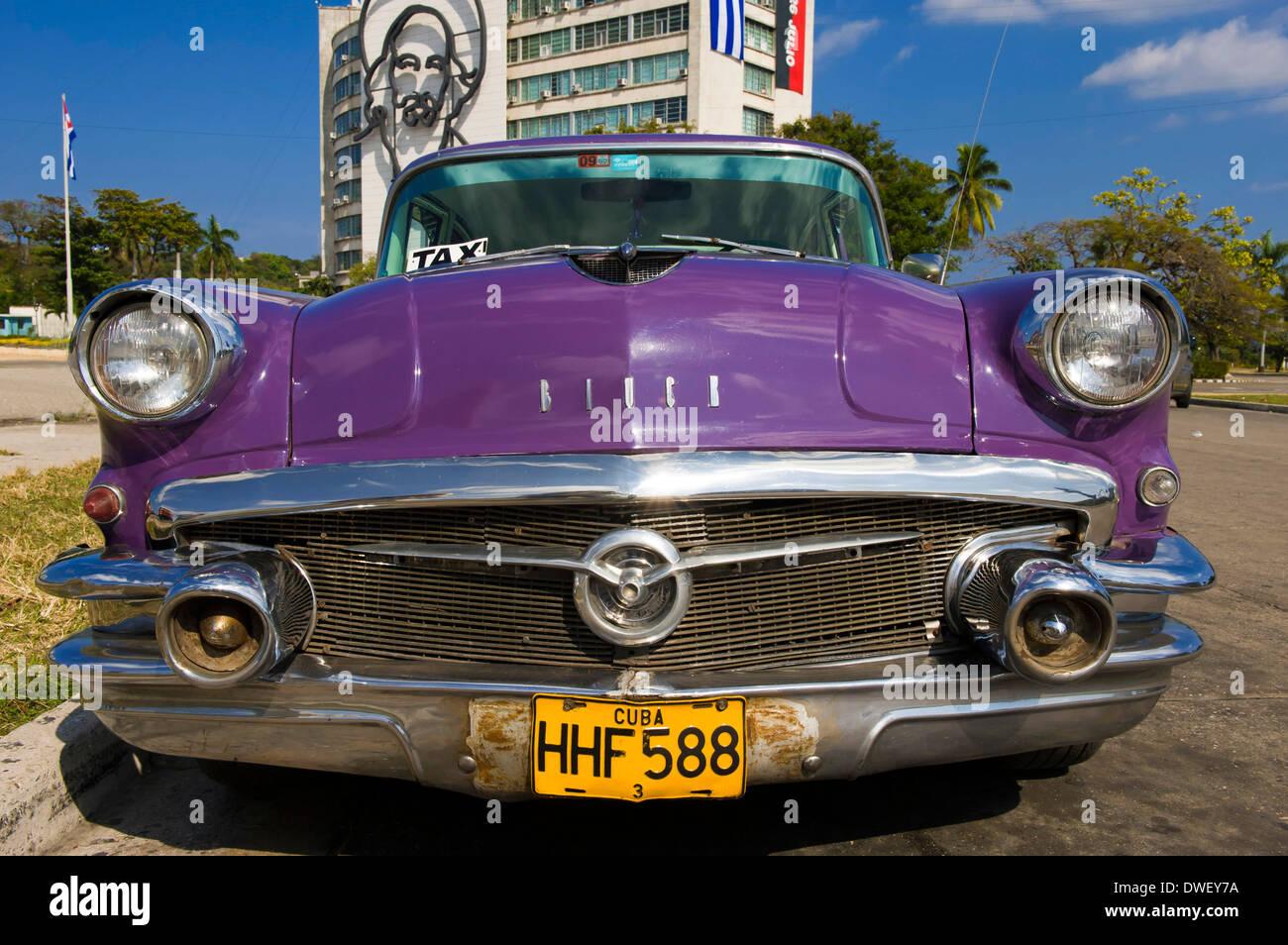 Oldtimer, Havana - Stock Image