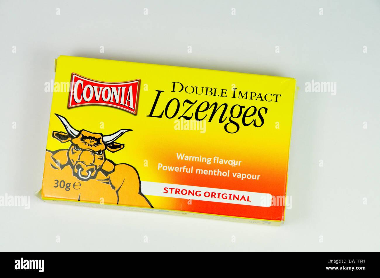 Covonia Lozenges Stock Photo