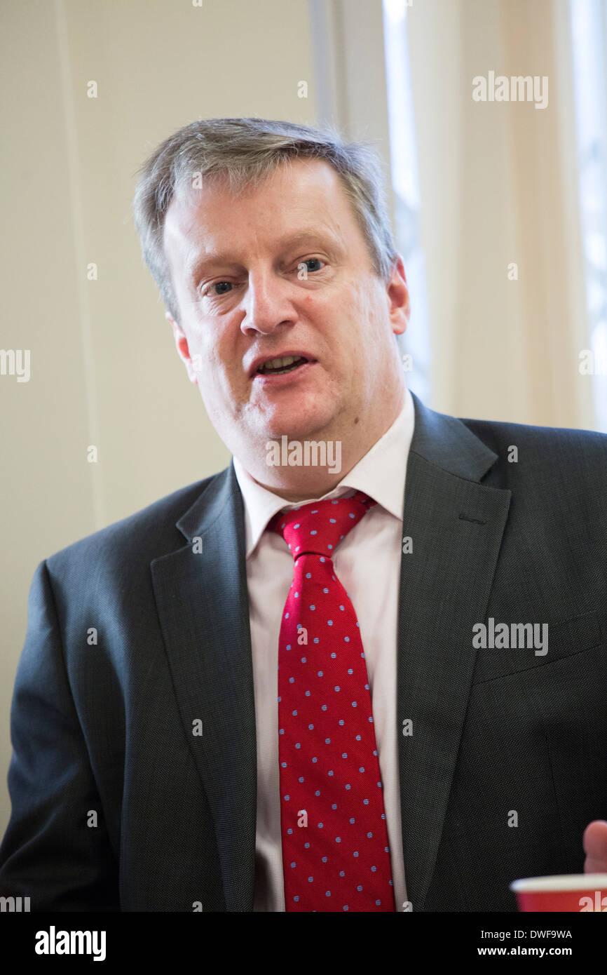 Dr Mark Newbold, Chief Executive, Heartlands Hospital Trust, Birmingham. - Stock Image