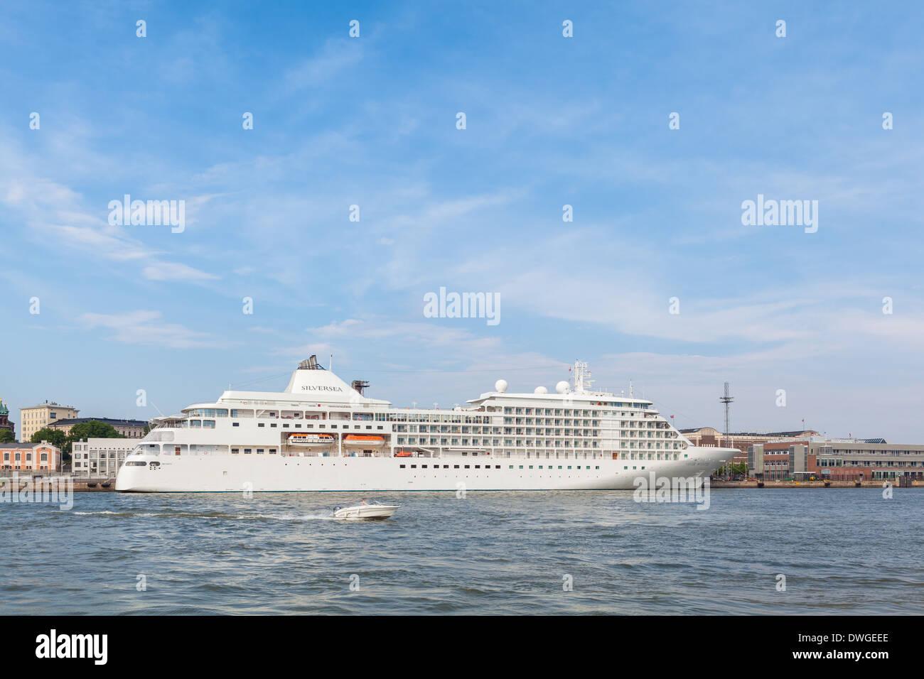 Silversea passenger ship - Stock Image